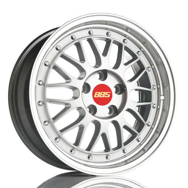 885 LeMans Silver 7.5x17 4x100 E35 C60.1 - 20+ kpl</