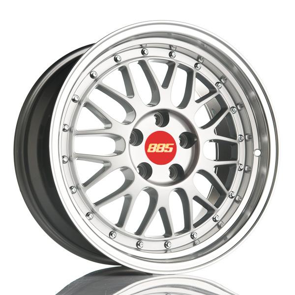 885 LeMans Silver 8.5x17 5x120 E15 C74.1 - 20+ kpl</