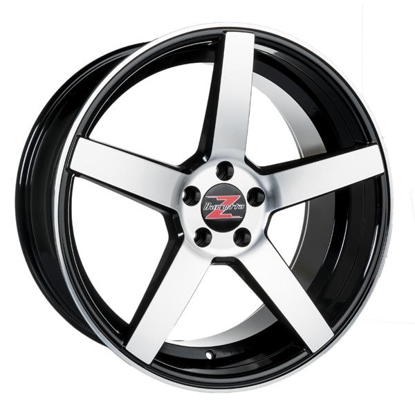Barzetta Tenente Black Polished 8.5x20 5x108 E40 C63.4 - 20+ kpl</