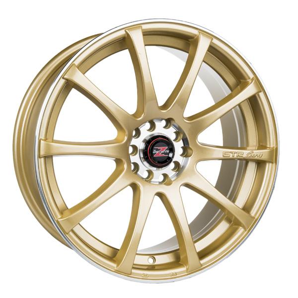 Barzetta GTR Gold 7.5x18 5x100 E40 C72.6 - 20+ kpl</