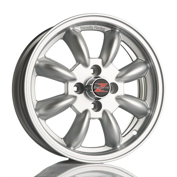 Barzetta Classic Rally Silver 5.5x15 4x100 E18 C57.1 - 20+ kpl</