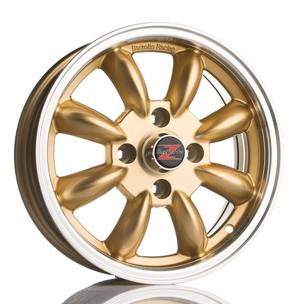 Barzetta Classic Rally Gold 5.5x15 4x114.3 E20 C60.1 - 20+ kpl</