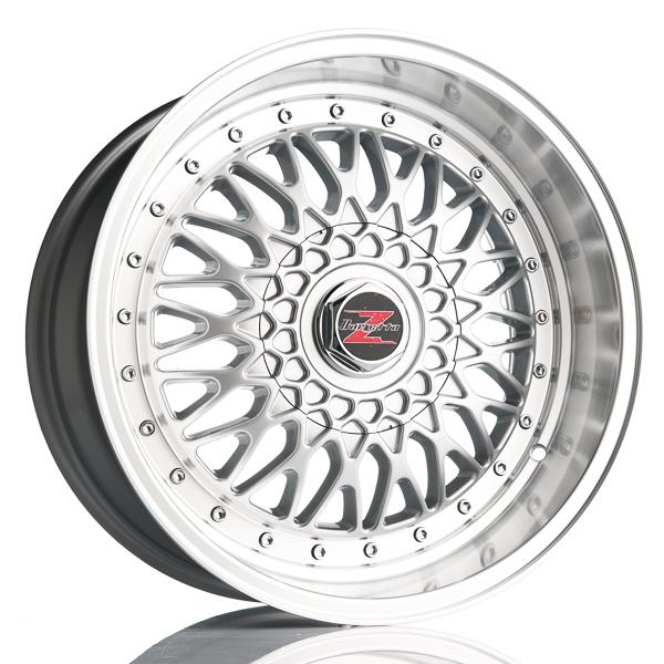 Barzetta Cross-Spoke Silver TARJOUS!! 7x15 5x110 E20 C74.1 - 20+ kpl</
