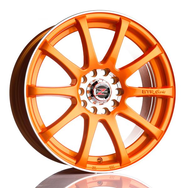 Barzetta GTR RaceOrange TARJOUS!! 7x16 5x100 E37 C66.6 - 20+ kpl</