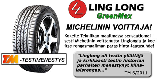 Linglong GreenMax - sensaatiomainen testimenestys
