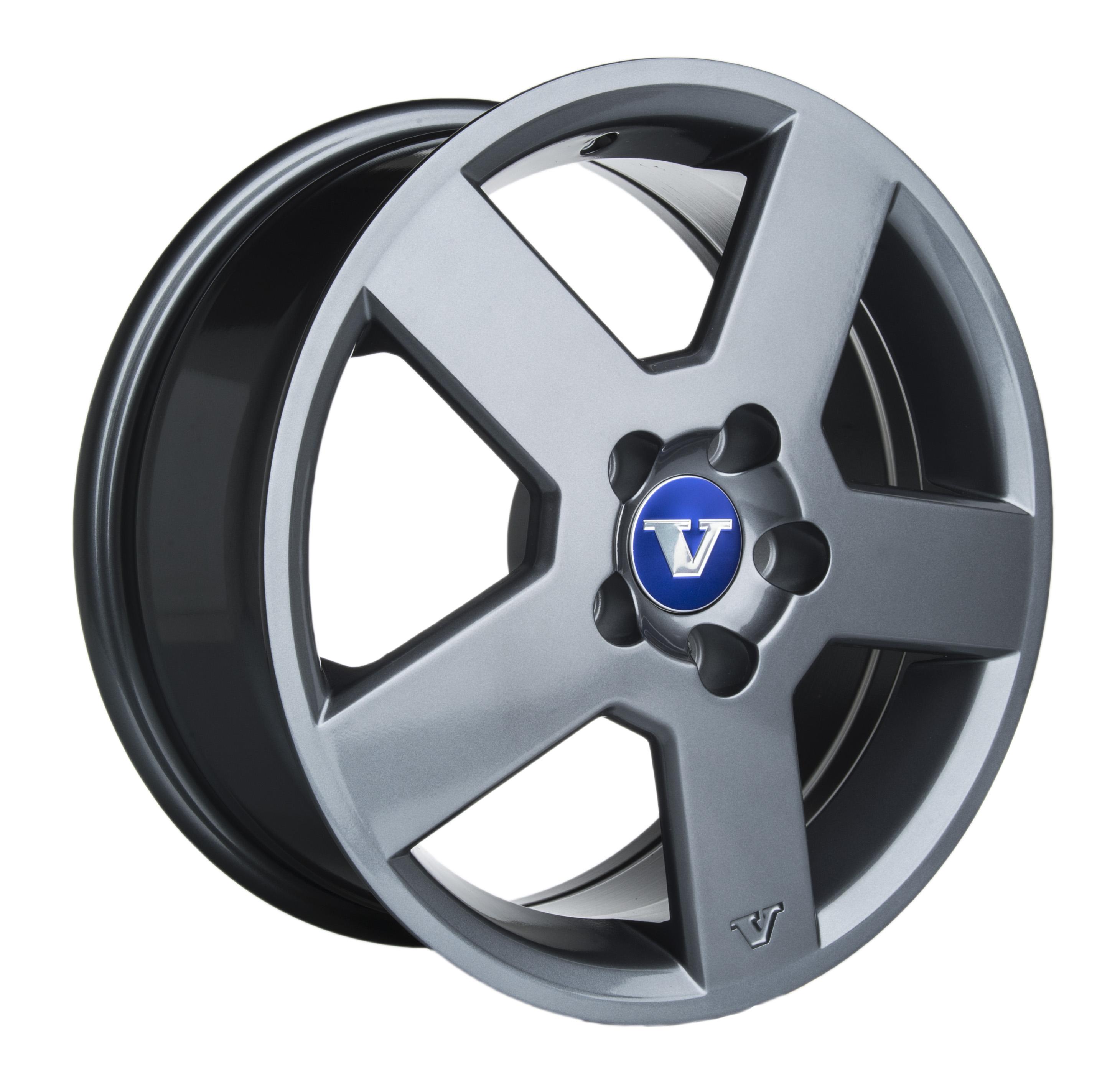 V-Wheels Pegasus Titanium 7x16 5x108 E43 C65.1 - 20+ kpl</