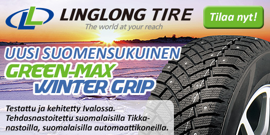 Suomensukuinen Linglong GreenMax Winter Grip -nastarengas