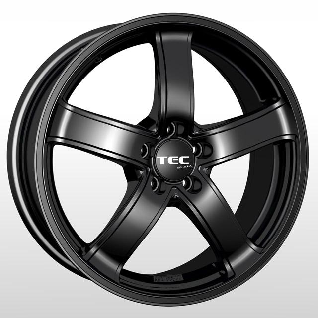 TEC Speedwheels AS1 Schwarz seidenmatt CB: 63.4 wheels