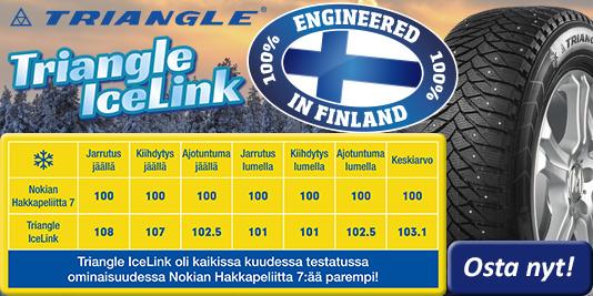 Triangle IceLink - Parasta pitoa Suomen talveen