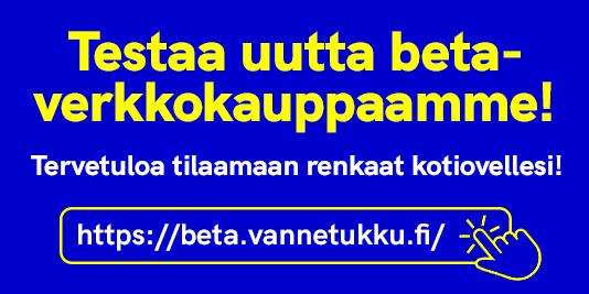 TUTUSTU UUTEEN (BETA) SIVUSTOON