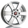 Barzetta Toro Silver Pakettiautoihin 7x16 jako: 6x130 ET: 60