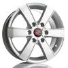 Barzetta Toro Silver for vans 7x16 PCD: 6x130 ET: 60