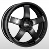 TEC Speedwheels AS1 Schwarz seidenmatt CB: 57.1