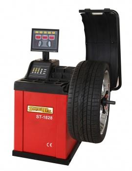 SteyrTek Tasapainotuskone ST-1828B LED-näytöllä, automaattimittauksella ja jarrulla