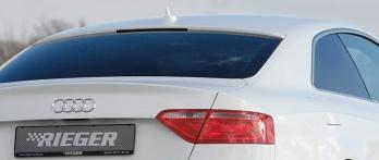 Rieger Takaikkunan spoileri Audi A5 Carbon look