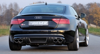 Rieger Takahelmakappale Audi A5 Carbon look