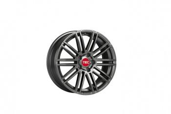 TEC Speedwheels AS3 Gun metal CB: 72.5