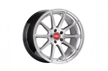 TEC Speedwheels GT7 Hyper Silver CB: 65.1
