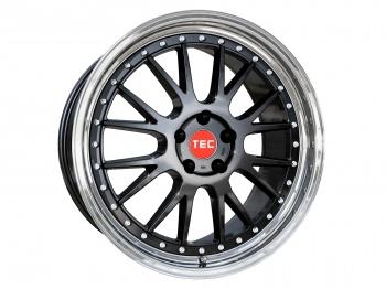 TEC Speedwheels GTE Black polished lip CB: 72.5
