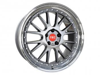 TEC Speedwheels GTE Titan polished lip CB: 72.5