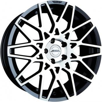 ASA GT4 Black machined face CB: 72.5