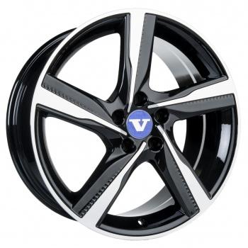 V-Wheels Tornado Black Polished