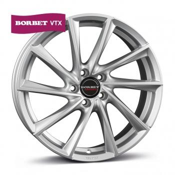 Borbet VTX brilliant silver