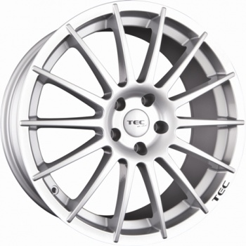 TEC Speedwheels AS2 Cristal silver CB: 72.5