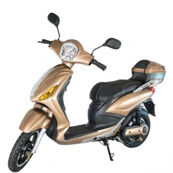 Kontio Motors e-Scooter, Gold & Silver