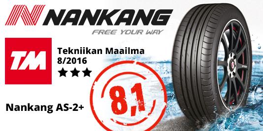Nankang NS-2 Sportnex - Tekniikan Maailma 2016