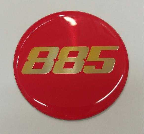 885 Emblem/54mm/Suora Classic RS 15-16