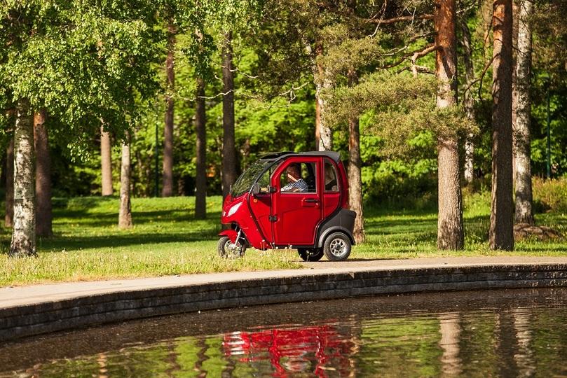Kontio Motors Kontio Autokruiser Premium, Blue Image: 2