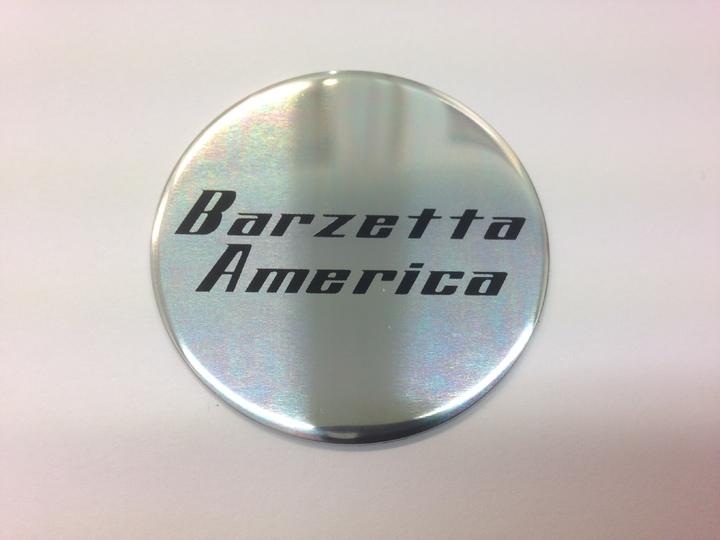 Barzetta Keskiön tarra America-vanteisiin Image: 1