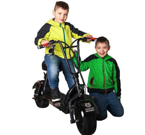 Kontio Motors Lasten Kruiser Black 2-paikkainen Image: 4
