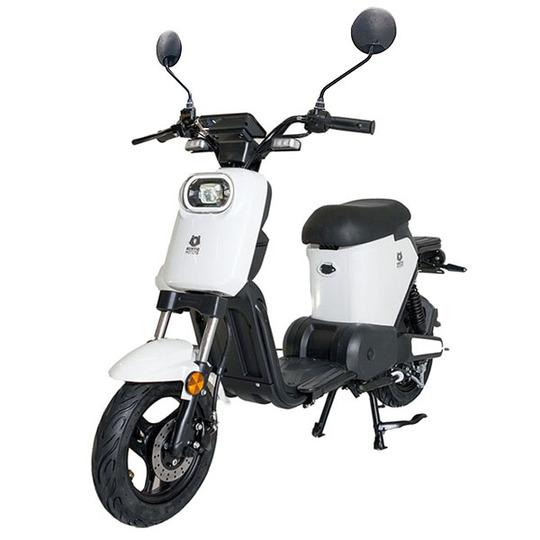 Kontio Motors Kontio e-Move mopo, White Image: 1