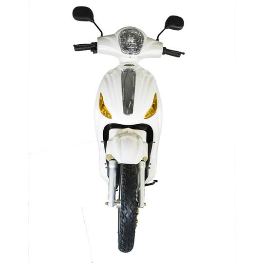 Kontio Motors e-Scooter, White & Silver PURKU Image: 3