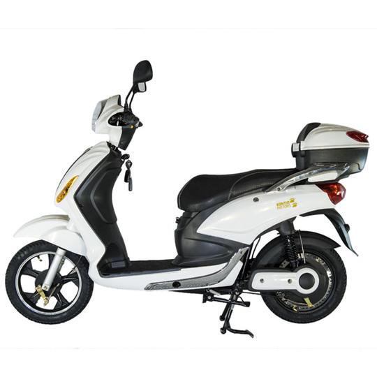 Kontio Motors e-Scooter, White & Silver PURKU Image: 2