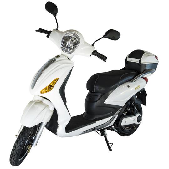 Kontio Motors e-Scooter, White & Silver PURKU Image: 1