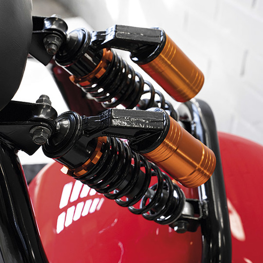 Kontio Motors Kruiser 2.0 Premium Pack Red Image: 4