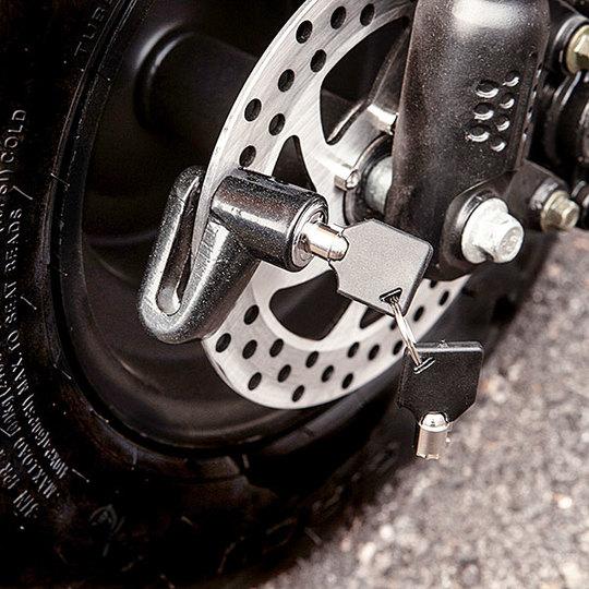 Kontio Motors Kruiser 2.0: Lukko jarrulevyyn Image: 2