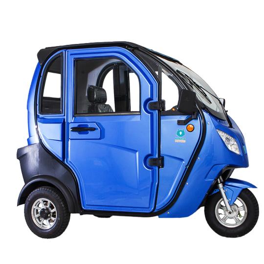 Kontio Motors Kontio Autokruiser Premium, Blue Image: 5