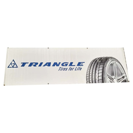 Triangle 80 cm x 250 cm Triangle banderolli Image: 1