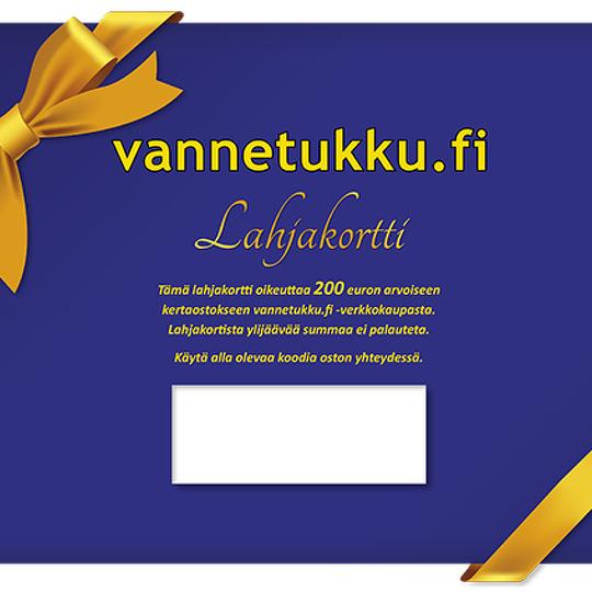 Vannetukku.fi Lahjakortti 200 euroa Image: 1