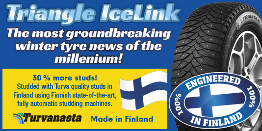 Triangle - EESTI - The most groundbreaking new winter tyre