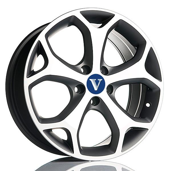 V-Wheels Kinect TitaniumPolish 6.5x15 5x108 E42 C65.1 - 20+ kpl</