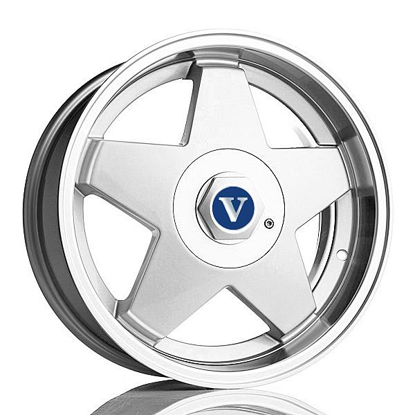 V-Wheels Star 8.5x17 5x108 E15 C74.1 - 20+ kpl</