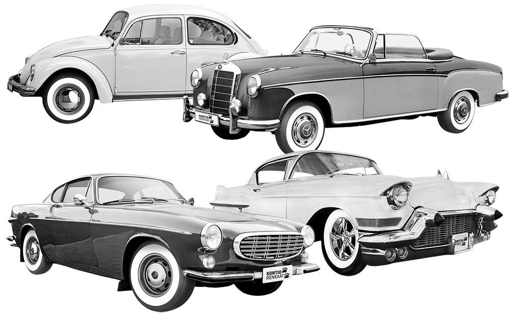 Kontio WhitePaw Classic autot -kuva
